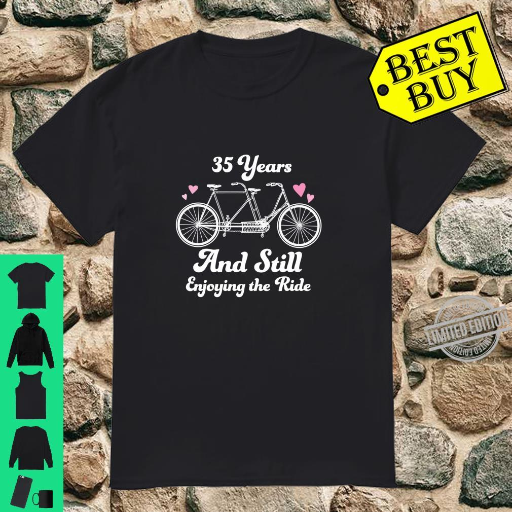 35th Wedding Anniversary 35 Years Together Shirt