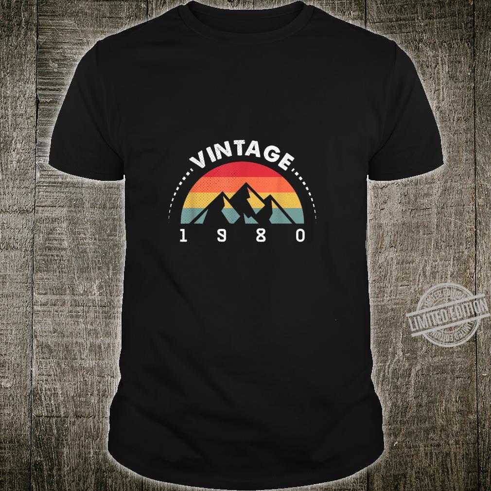 40. Geburtstag 1980 Vintage 40 Jahre 80s Classic Geschenk Shirt