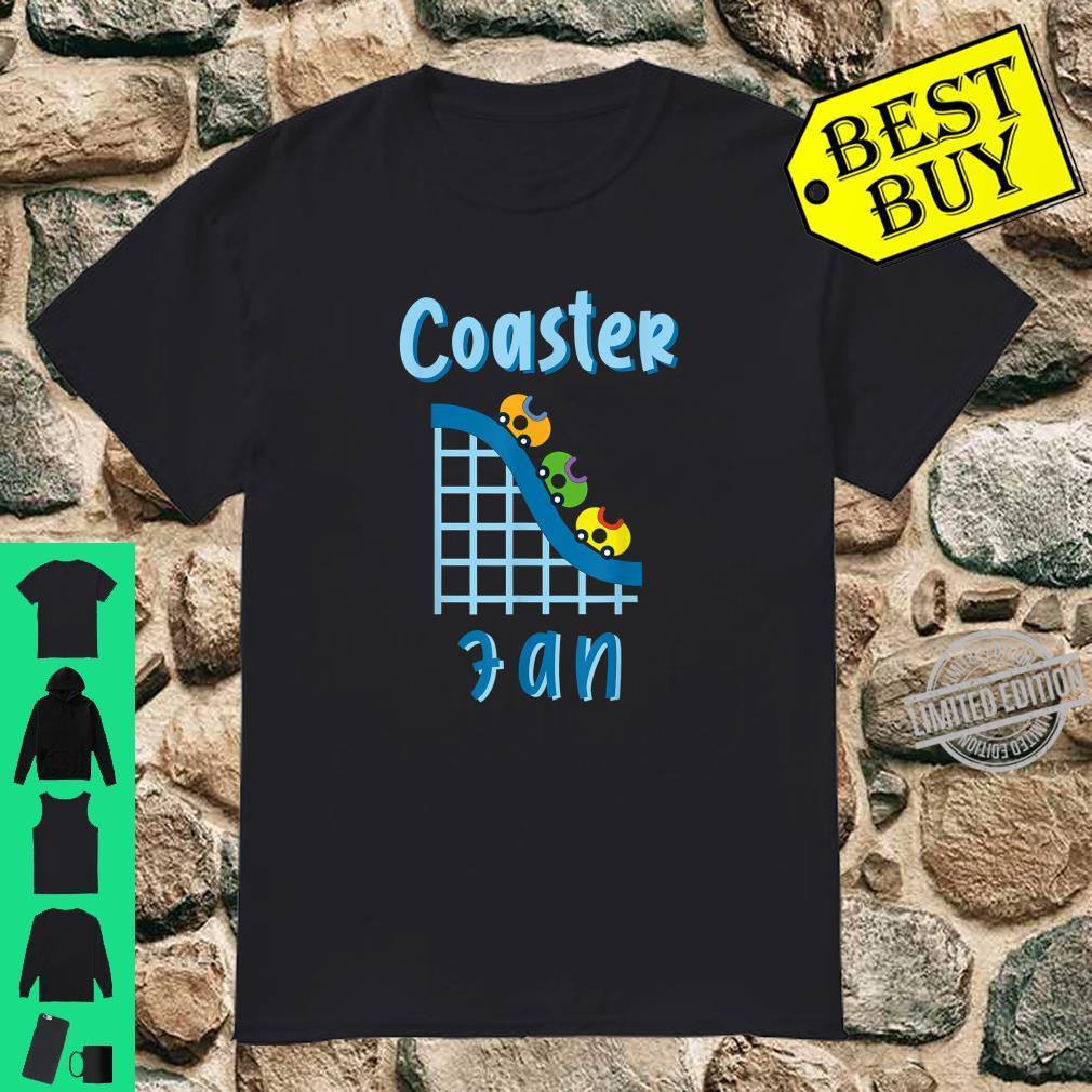 Achterbahn Coaster Fan Design für alle Adrenalienjunkies Shirt