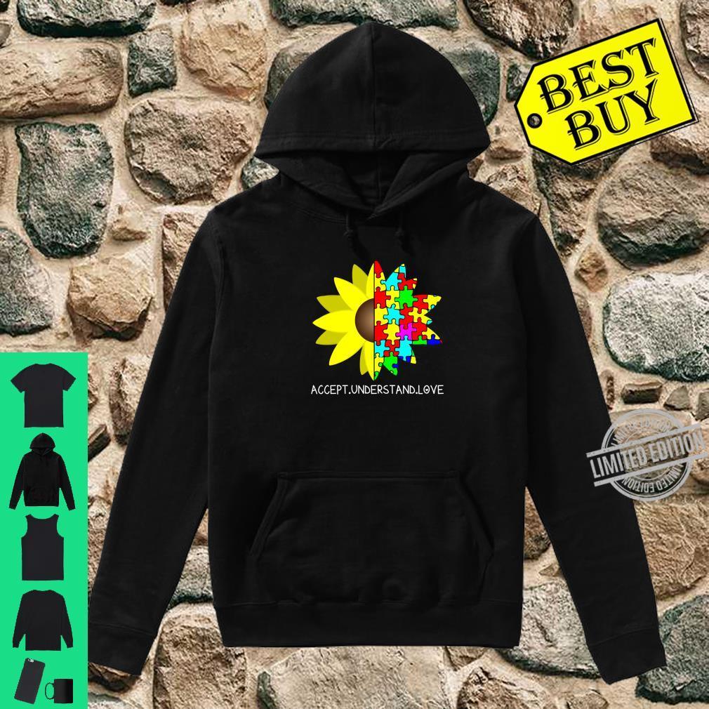 Autism Awareness Sunflower Accept Understand Love Shirt hoodie