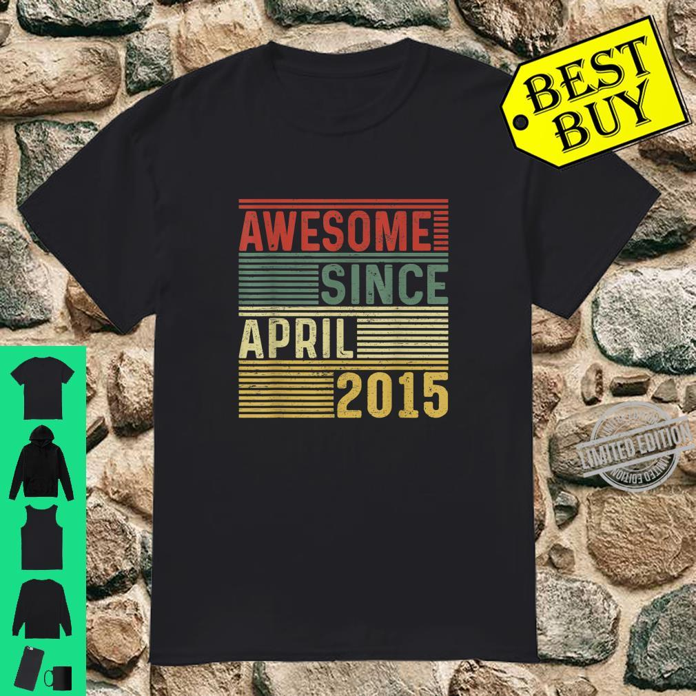 Awesome Since April 2015 Limited Edition 5 Yrs Old Shirt