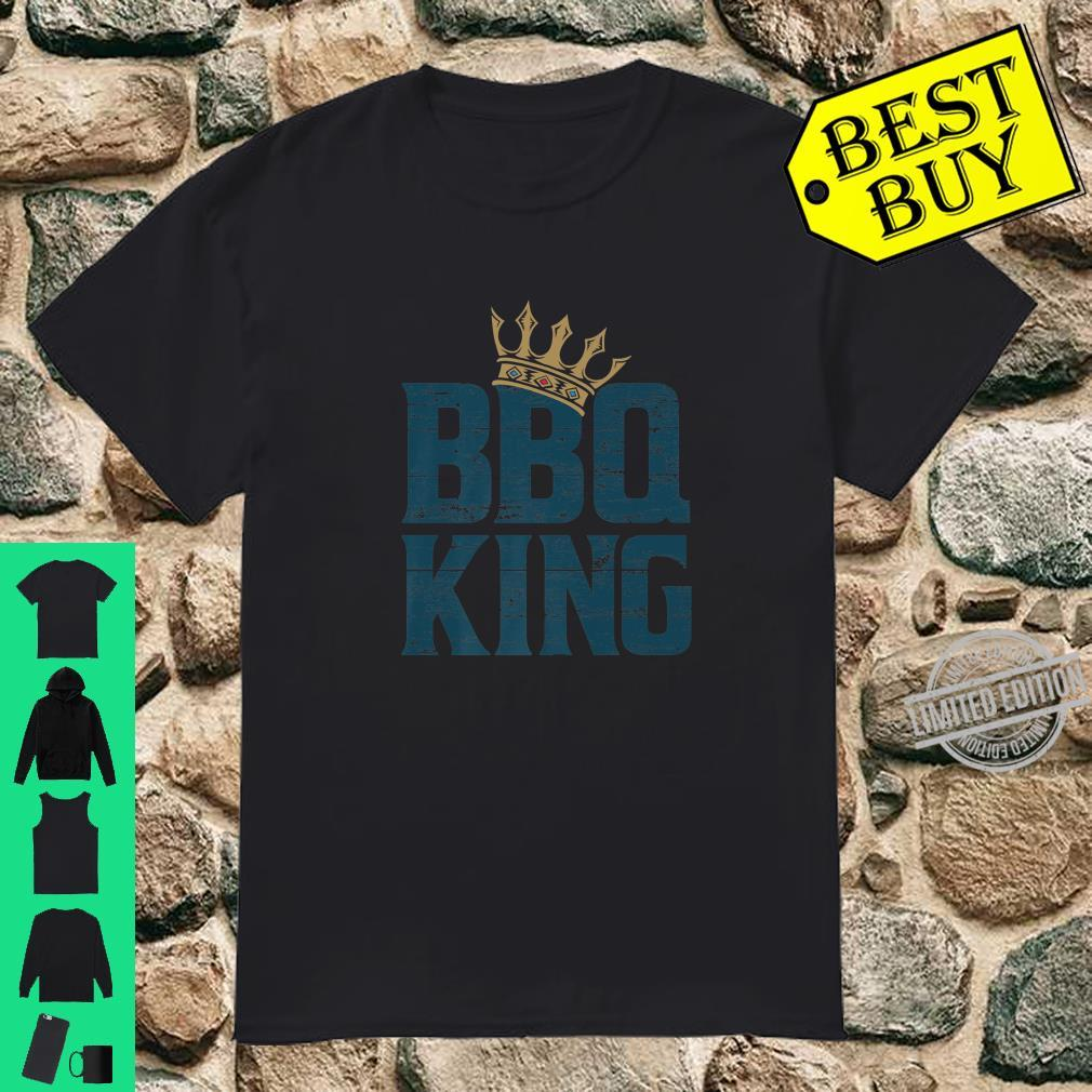 BBQ king meat eater barbecue grilling for dads Shirt