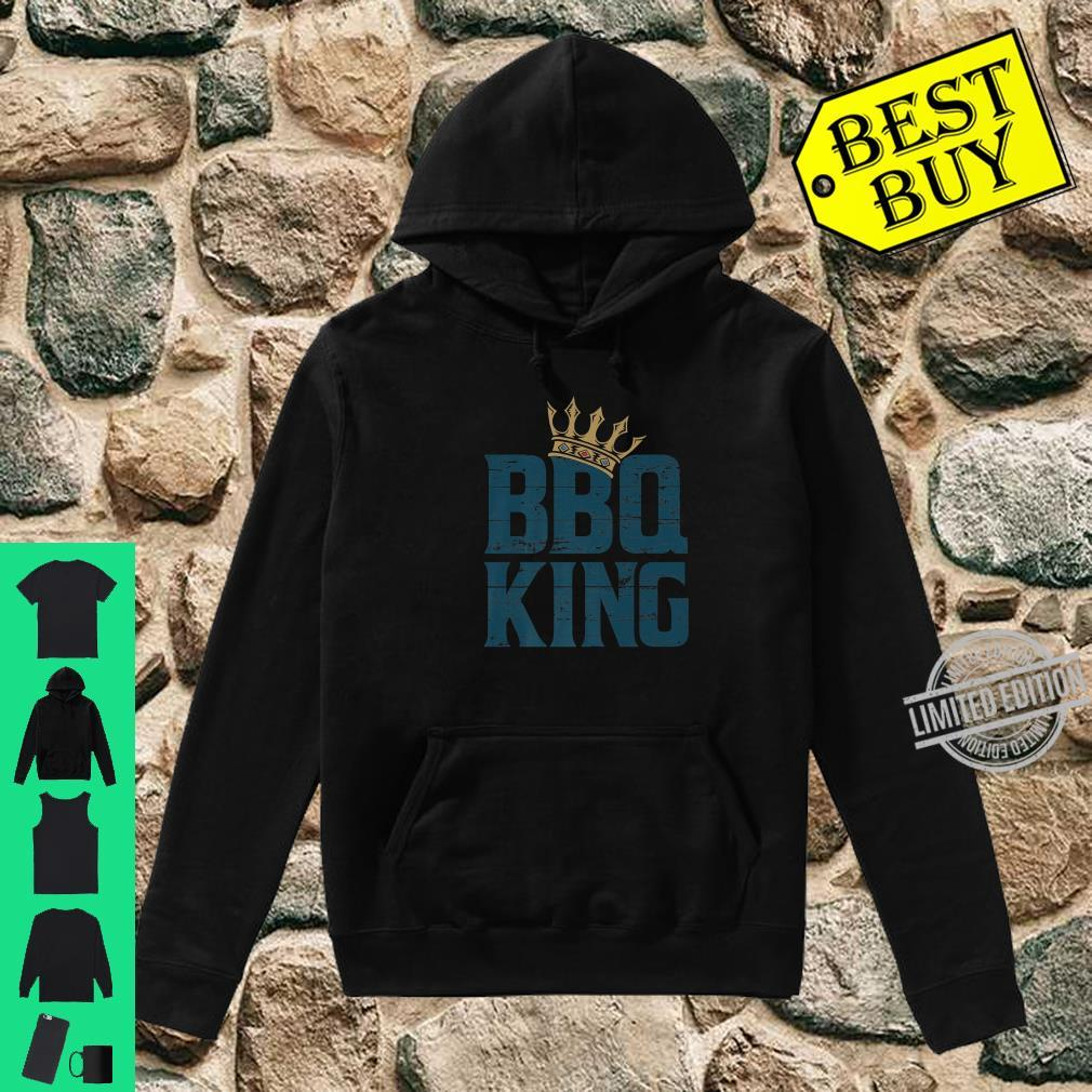 BBQ king meat eater barbecue grilling for dads Shirt hoodie