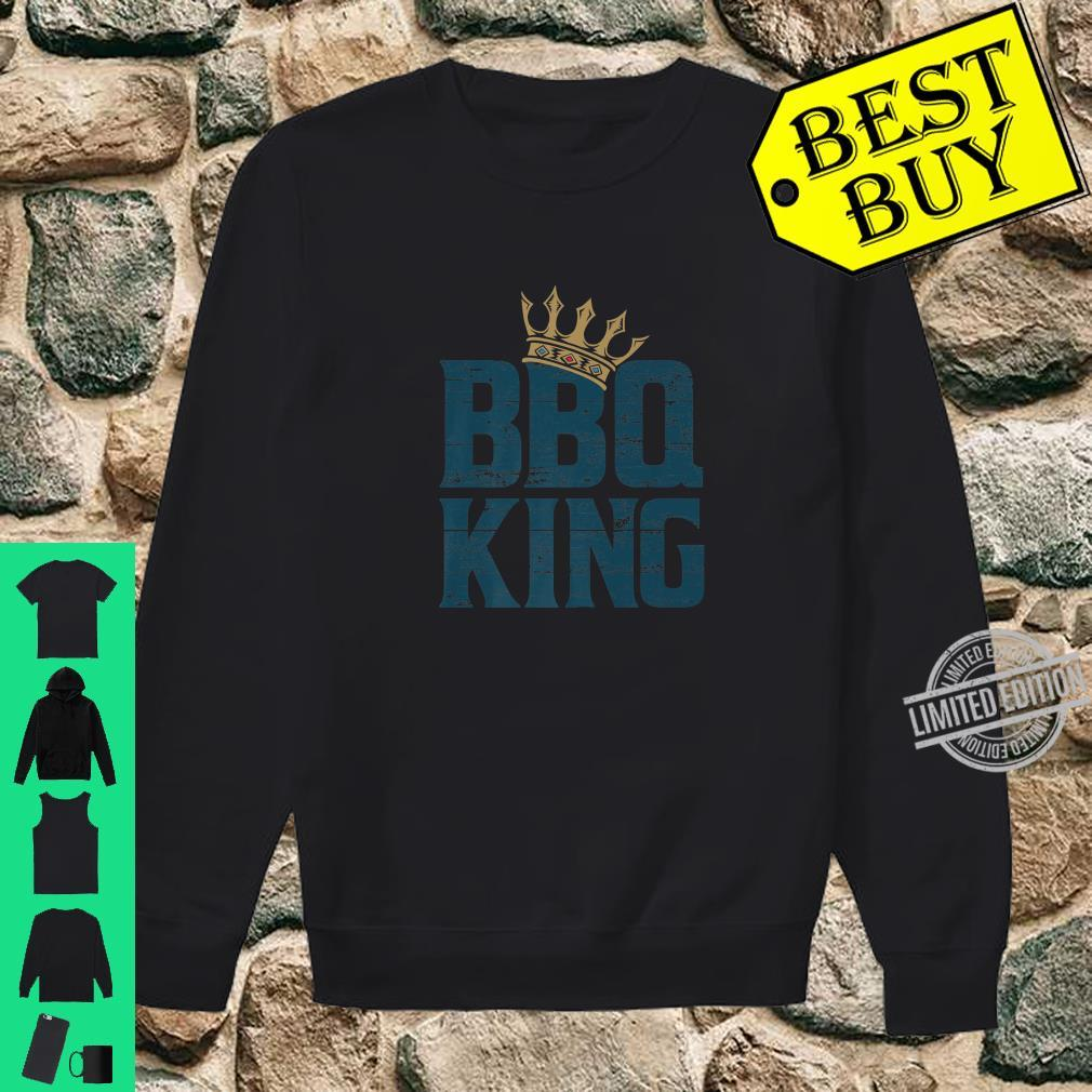 BBQ king meat eater barbecue grilling for dads Shirt sweater
