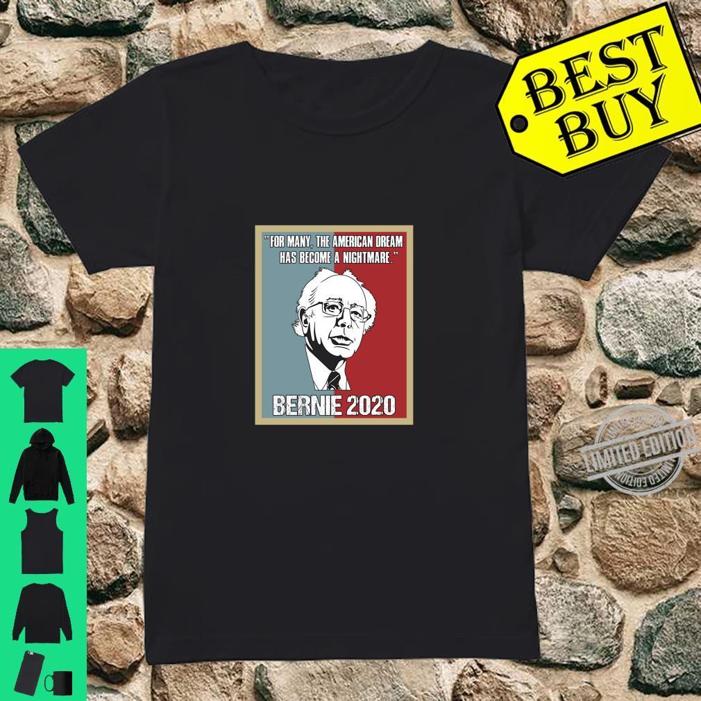 Bernie Sanders 2020 Bernie Sanders For President Shirt ladies tee