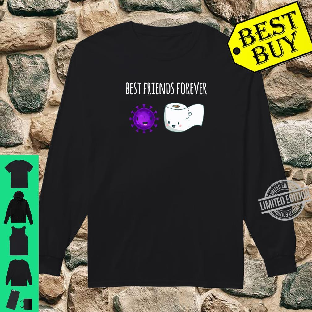 Best Friends Forever Toilet Paper with Flu Shirt long sleeved