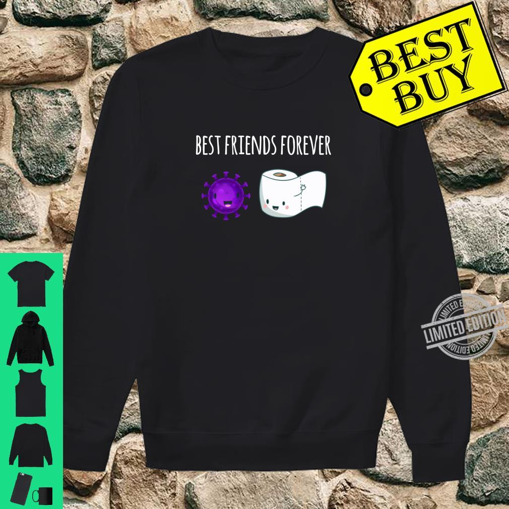 Best Friends Forever Toilet Paper with Flu Shirt sweater