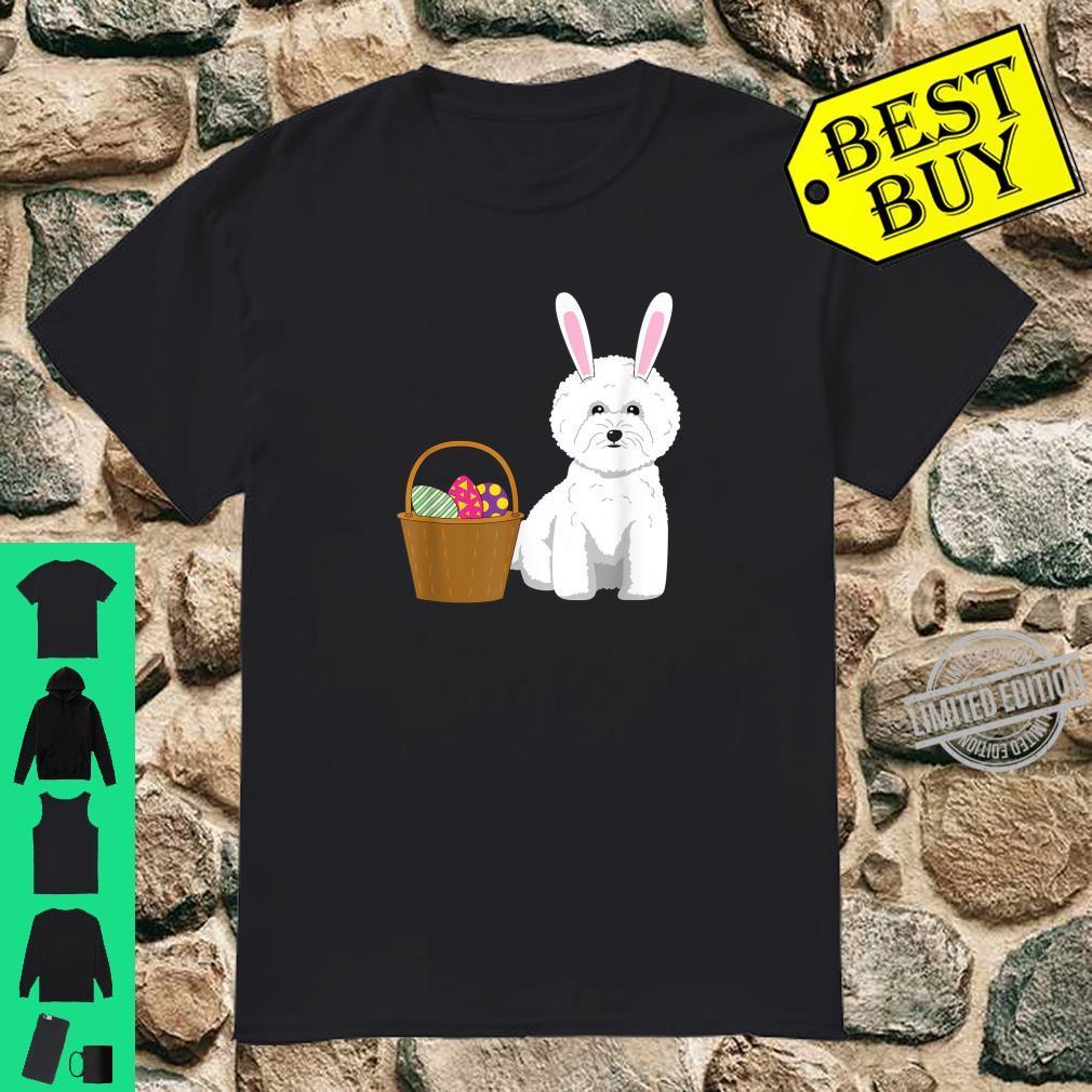 Bichon Friseurhund süßes Frohe Ostern Shirt