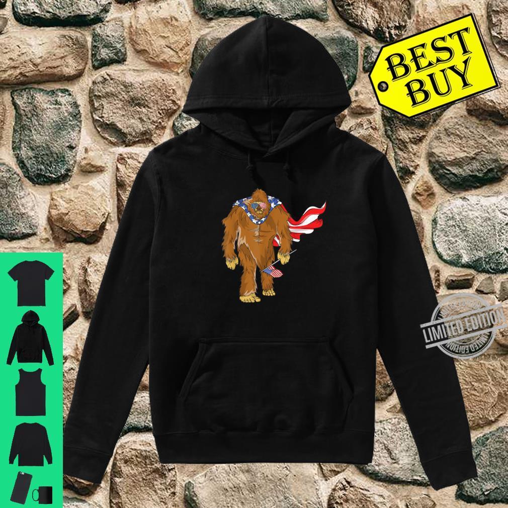 Bigfoot 4. Juli Unabhängigkeitstag Shirt hoodie