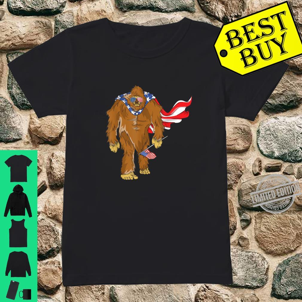 Bigfoot 4. Juli Unabhängigkeitstag Shirt ladies tee