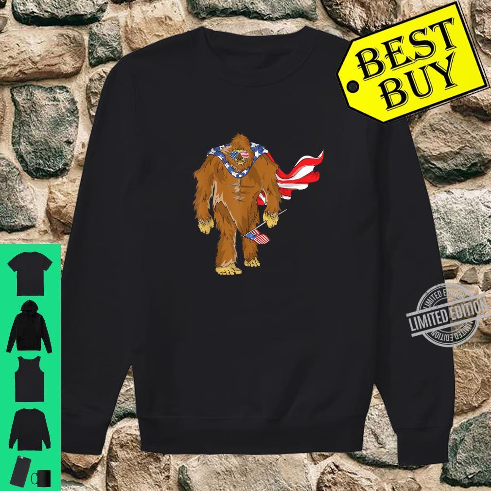 Bigfoot 4. Juli Unabhängigkeitstag Shirt sweater
