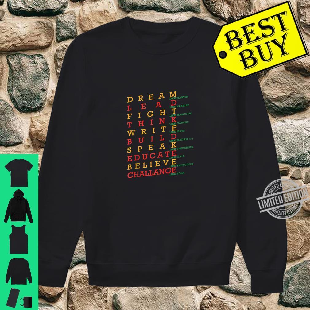 Black History Month Dashiki African Pride Heritage Peace Shirt sweater