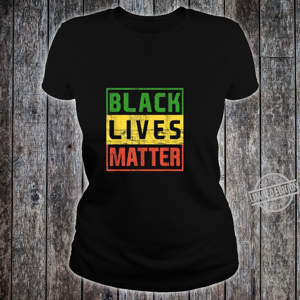 Black Lives Matter BlackLivesMatter Shirt ladies tee