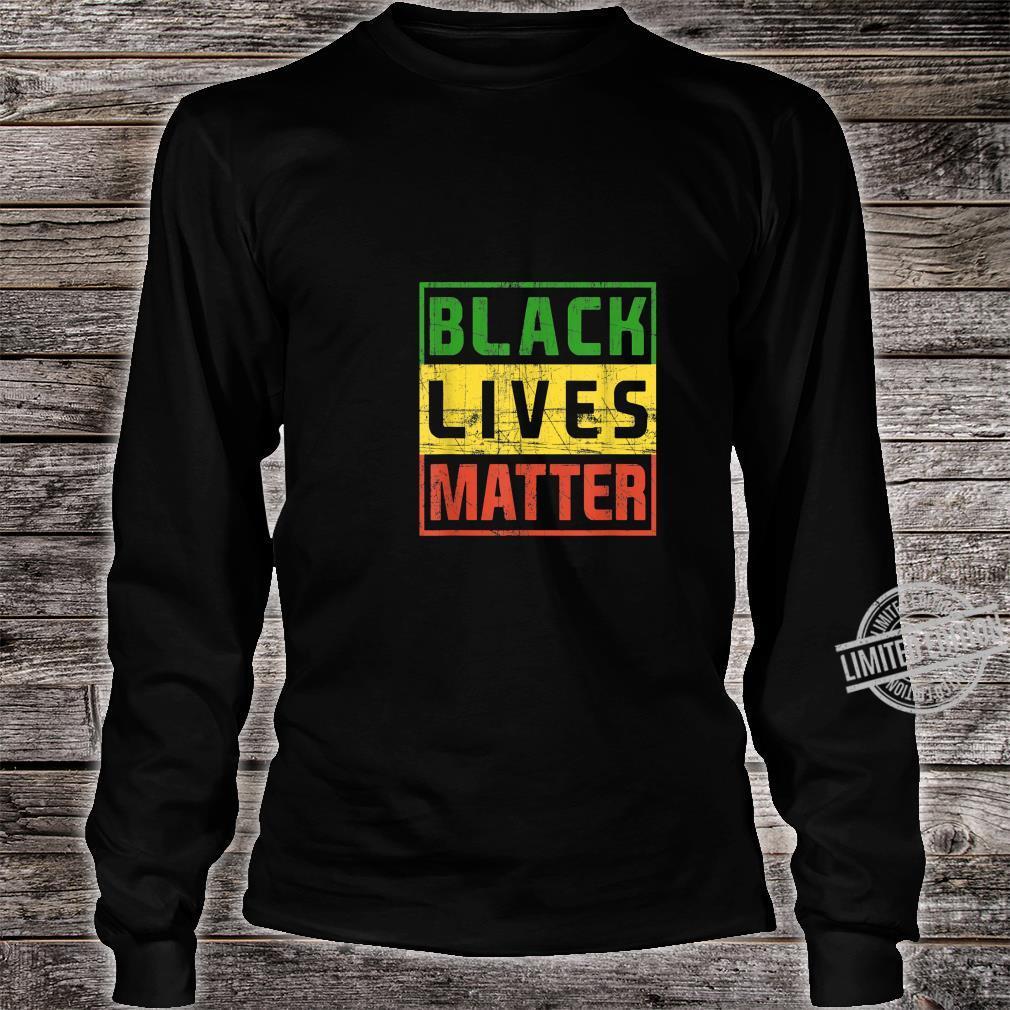 Black Lives Matter BlackLivesMatter Shirt long sleeved