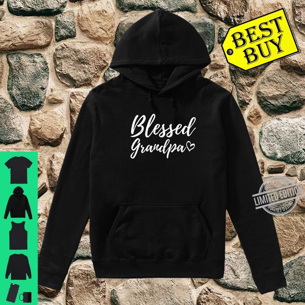 Blessed Grandpa Shirt Christmas Grandpa Family Matching Shirt hoodie