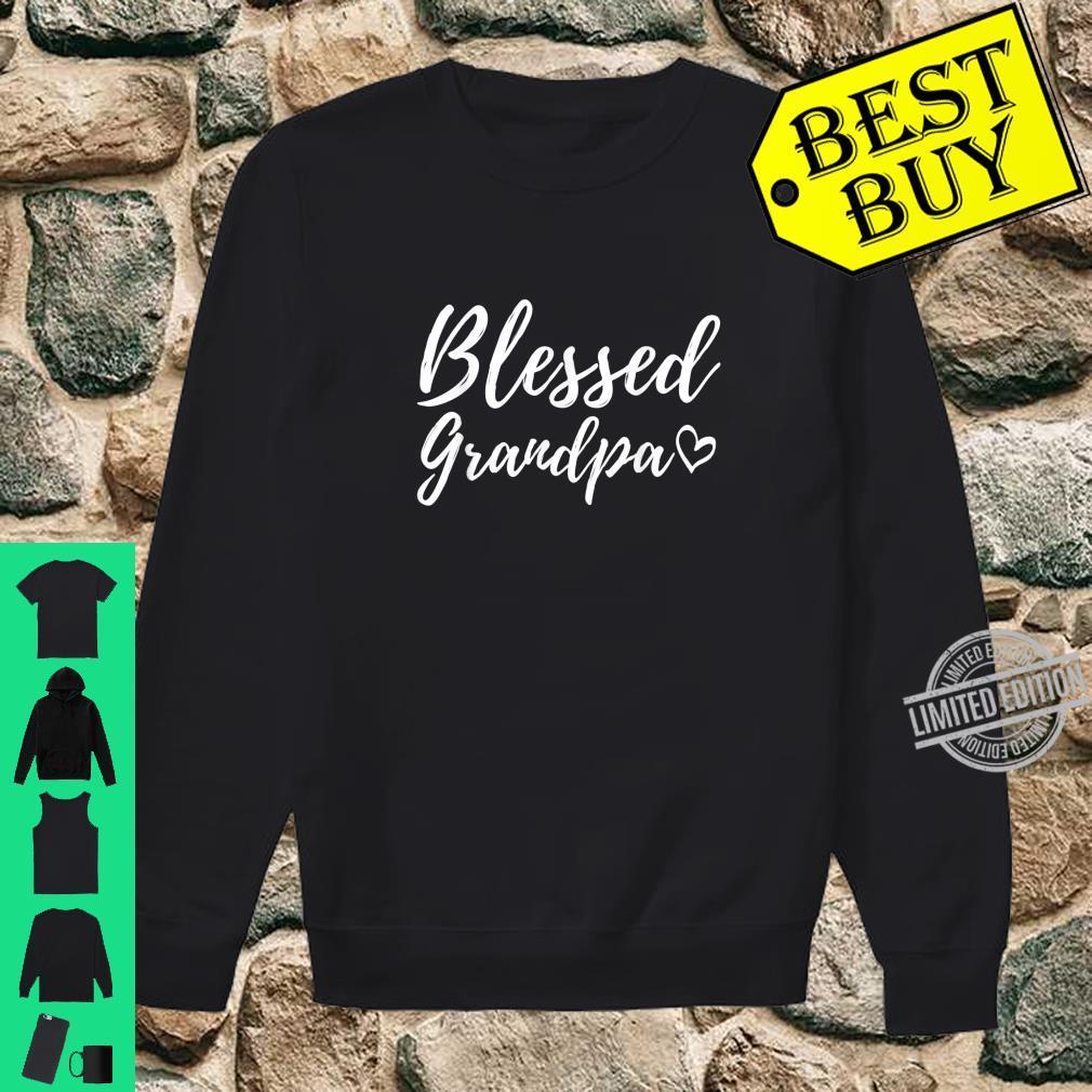 Blessed Grandpa Shirt Christmas Grandpa Family Matching Shirt sweater