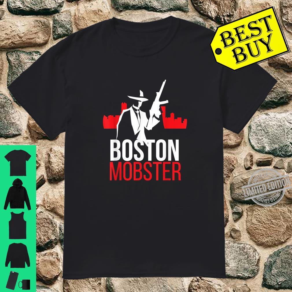 Boston Mobster Massachusetts Gangster Shirt