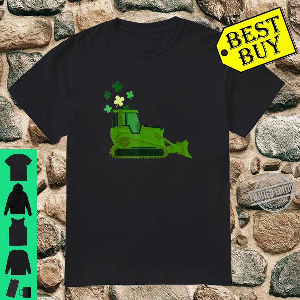 Bulldozen Happy St Patricks Day Shirt