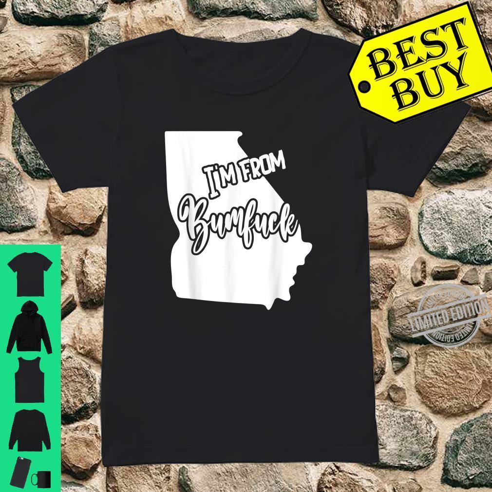 Bumfuck Nowhere Georgia Silhouette Shirt ladies tee