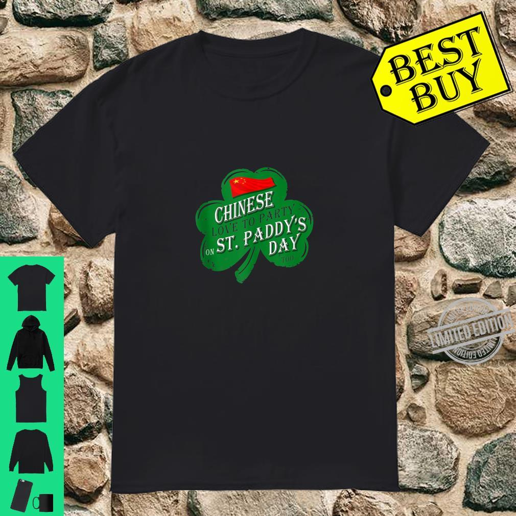 CHINESE love to party on St Paddys day 2020 Shirt