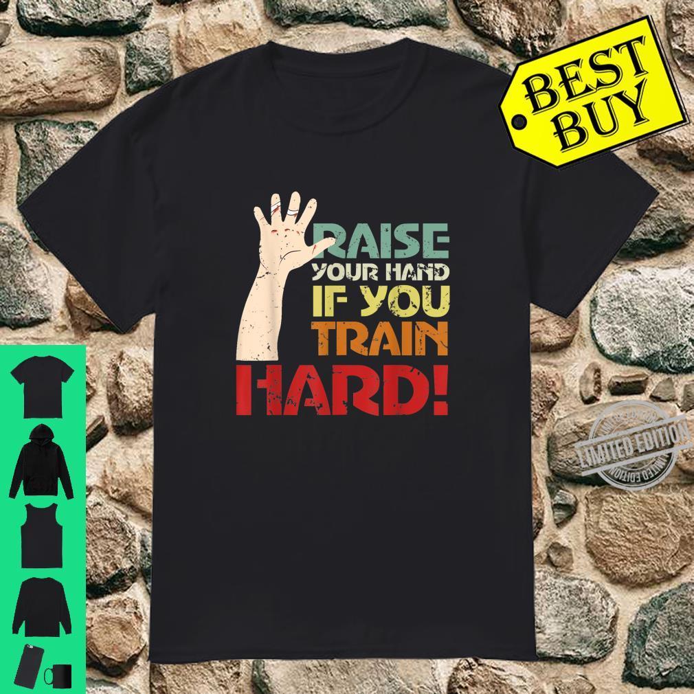 Calisthenics Hard Training Street Workout Muscle Up Shirt