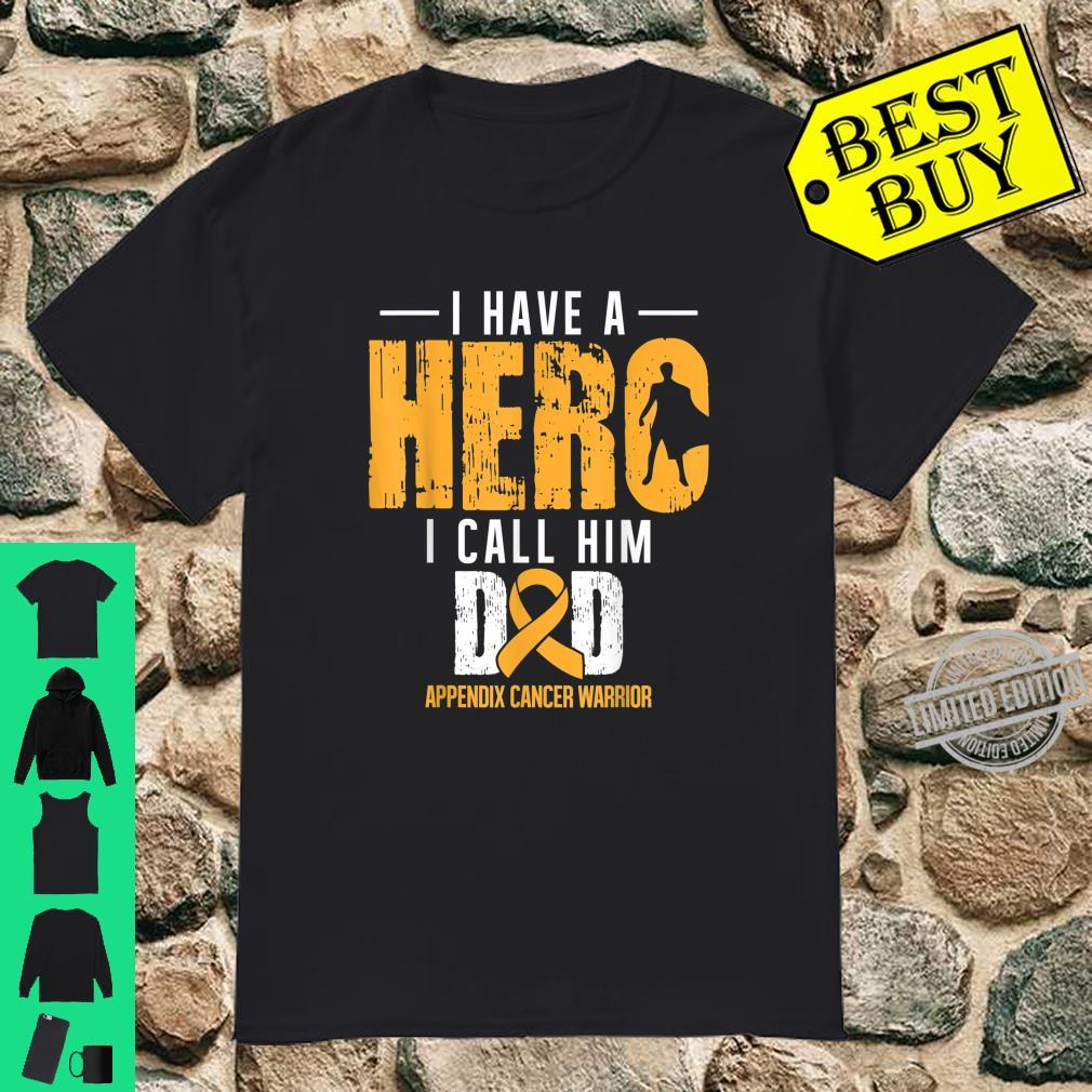 Call Him Dad Appendix Cancer Awareness Support Ribbon Shirt
