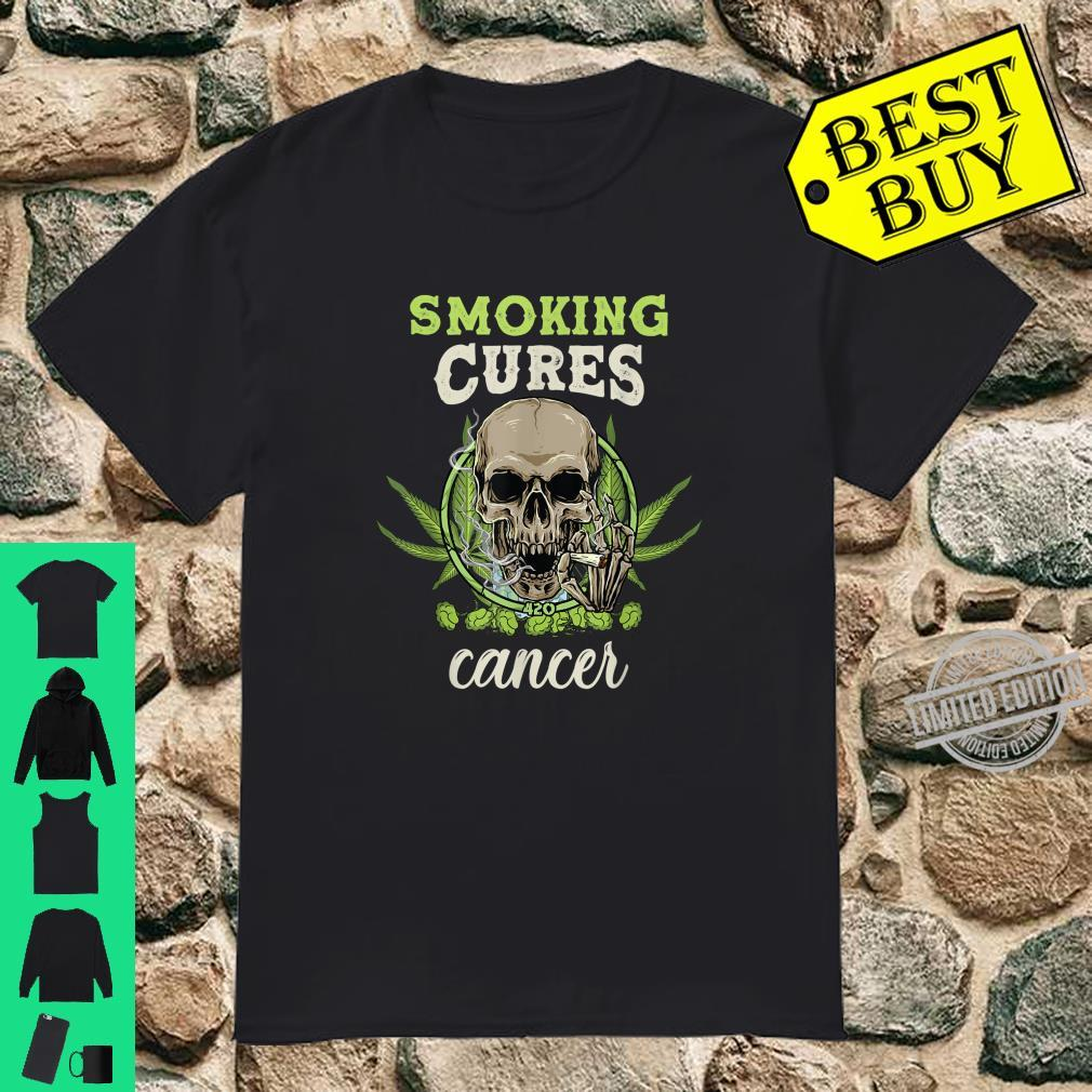 Cannabis can cures cancer. Legalize it Shirt