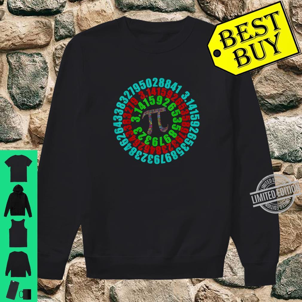 Captain Pi Superhero Shield Pi Day Science Math 2020 Shirt sweater