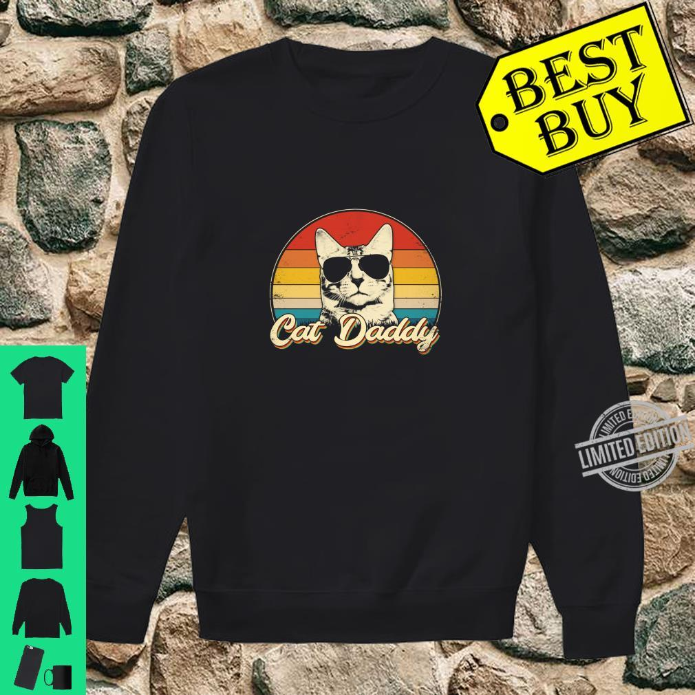 Cat Daddy Cat Gift Cat Dad Father's Day Shirt sweater