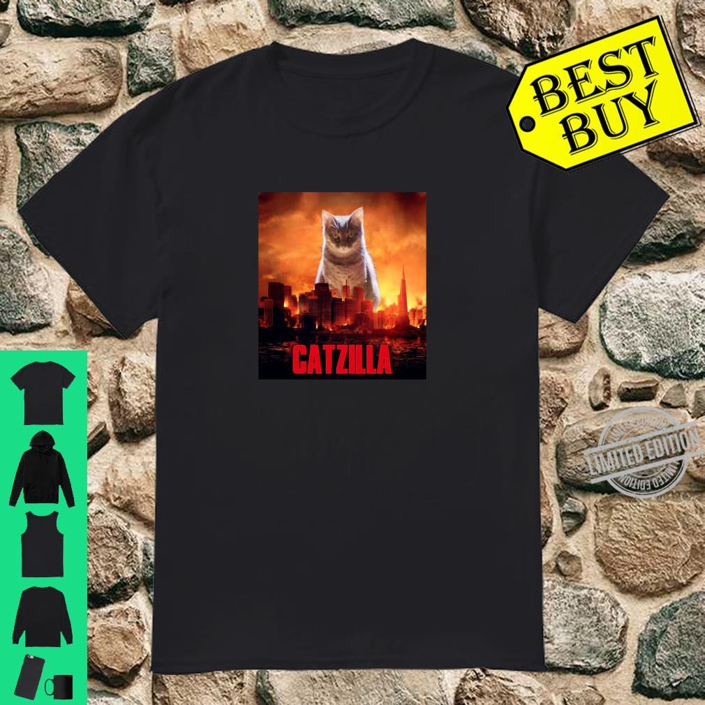 Catzilla Cat Kitten Shirt