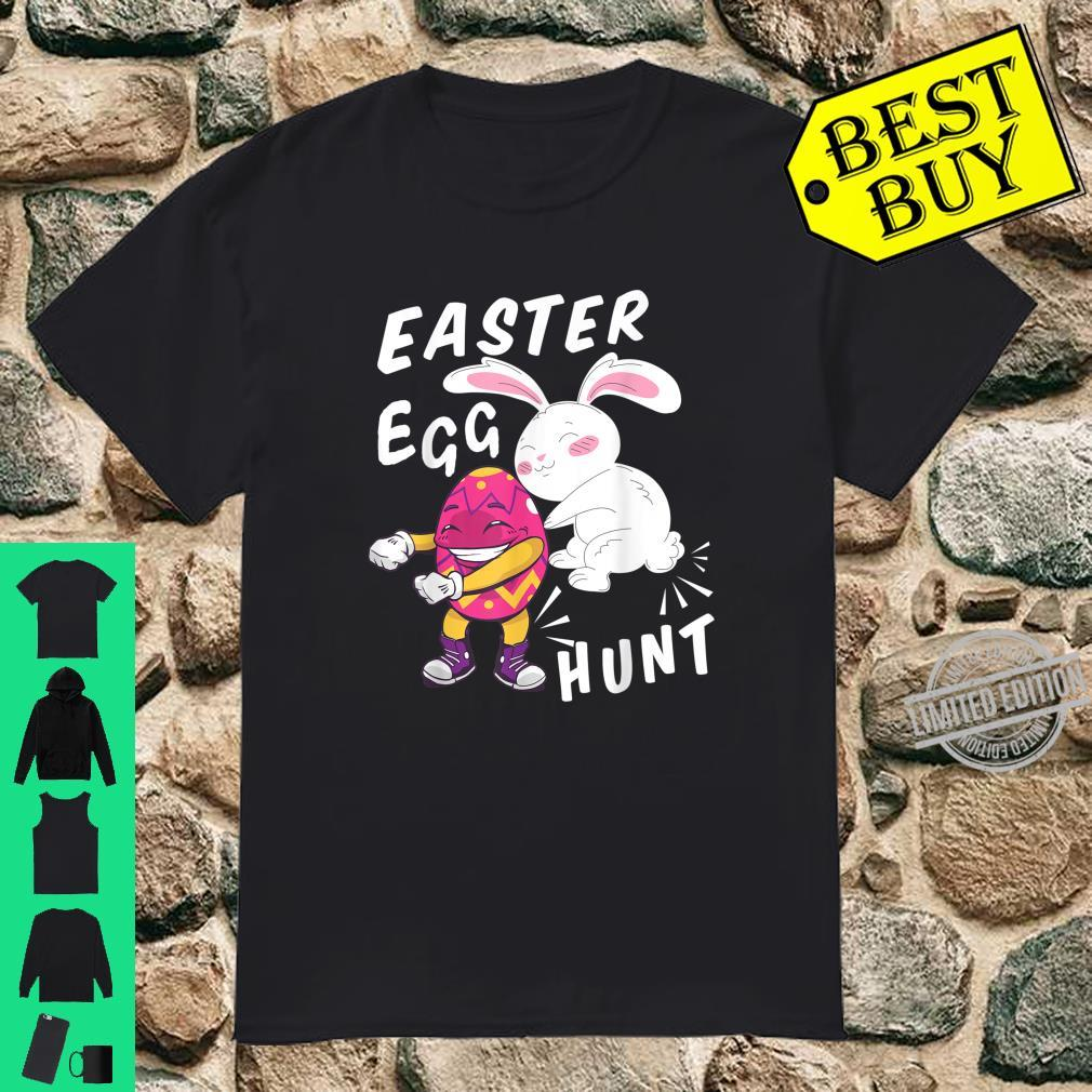 Cute Bunny Outfit for Girls Boys Easter Egg Hunt Shirt