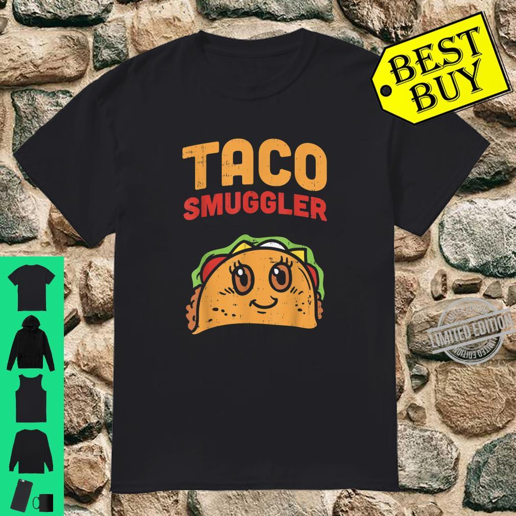 Cute Eating Tacos For Two Pregnancy Announcement Baby Shower Shirt