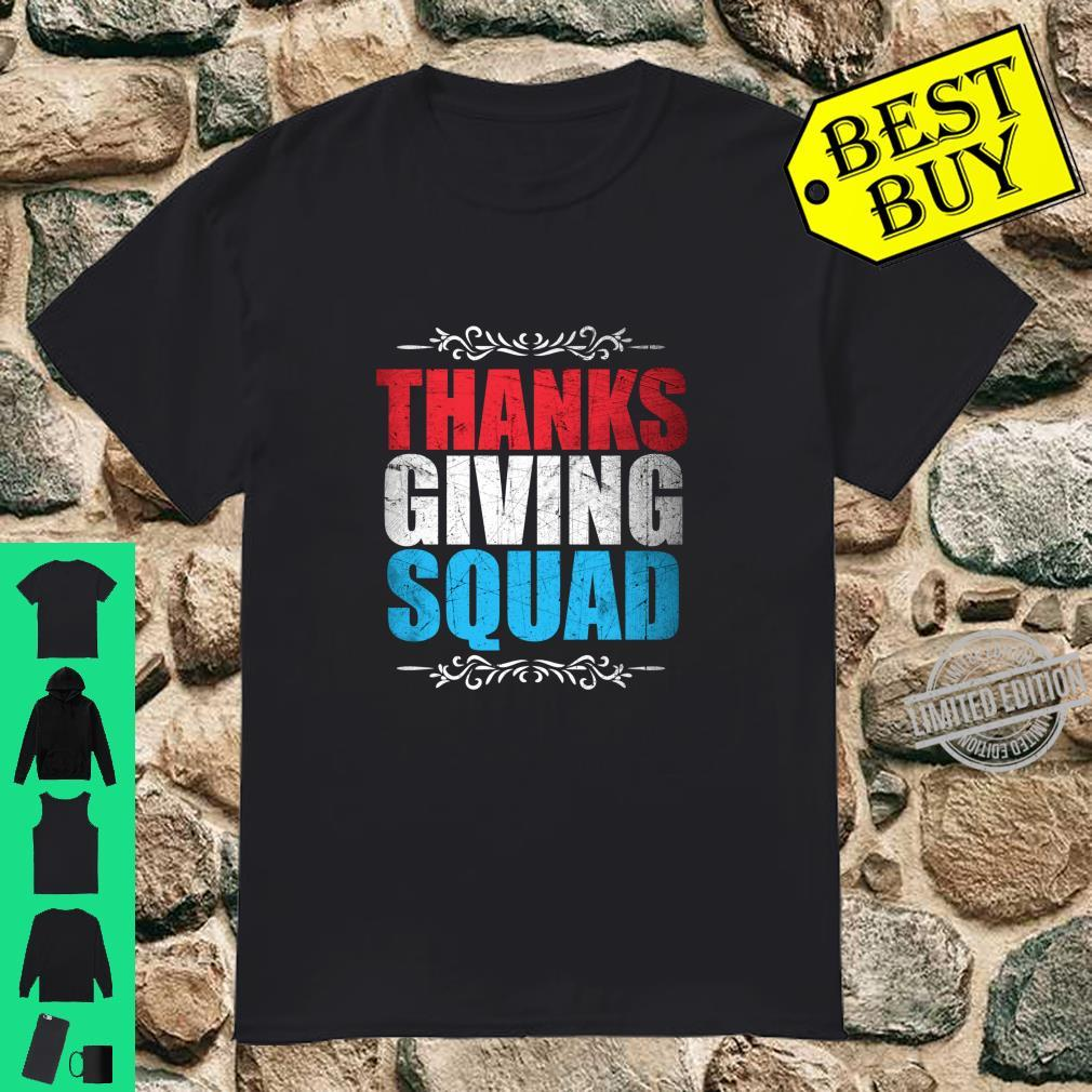 Danke Giving Squad Langarmshirt Shirt