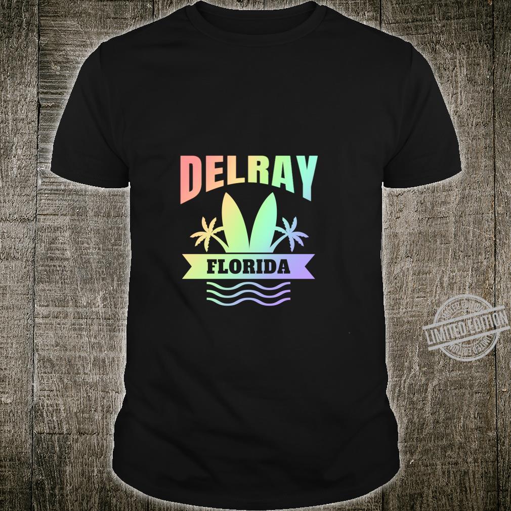 Delray Beach Florida Vacation Shirt