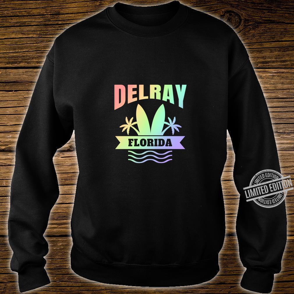 Delray Beach Florida Vacation Shirt sweater