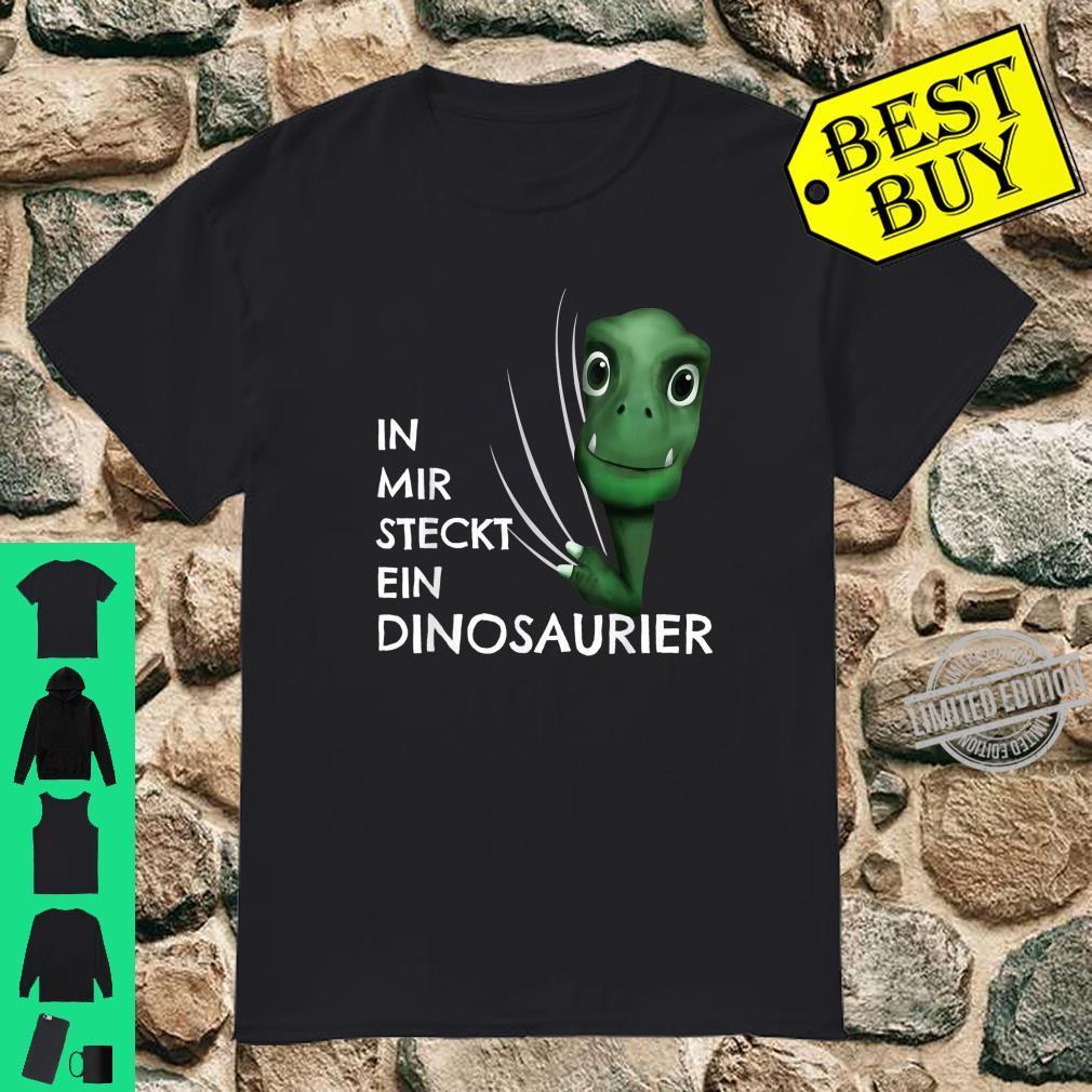 Dino Kostüm Kinder Kleidung In mir steckt ein Dinosaurier Shirt