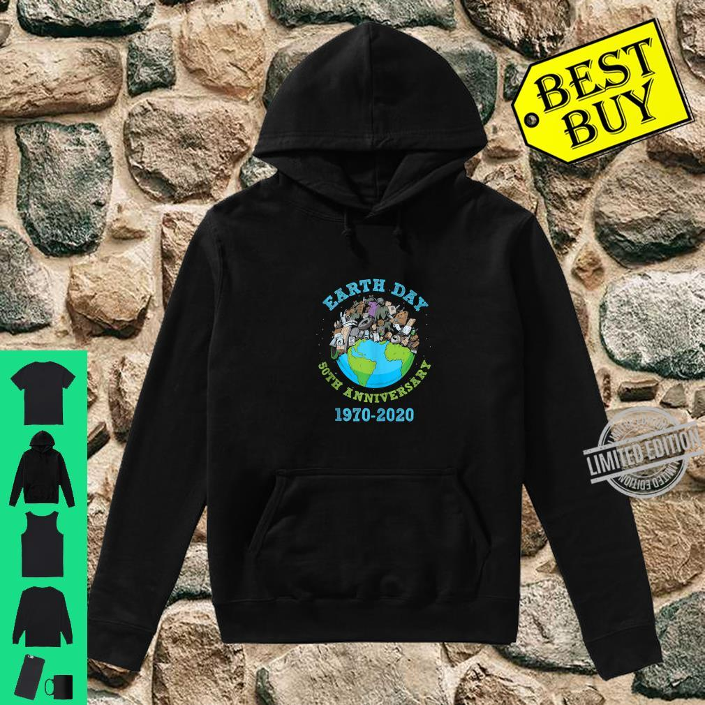 Earth Day 2020 50th Anniversary Climate Change Shirt hoodie