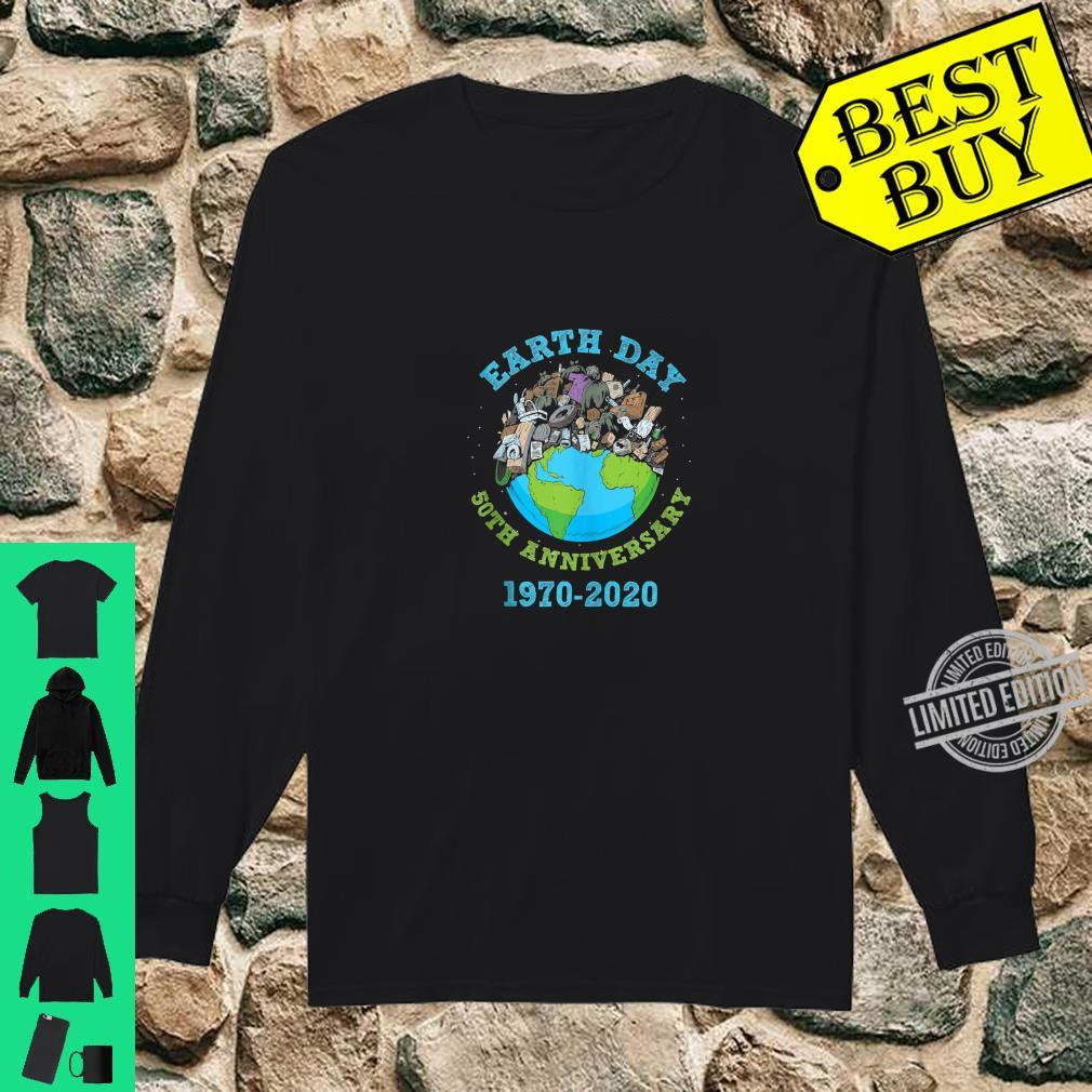 Earth Day 2020 50th Anniversary Climate Change Shirt long sleeved