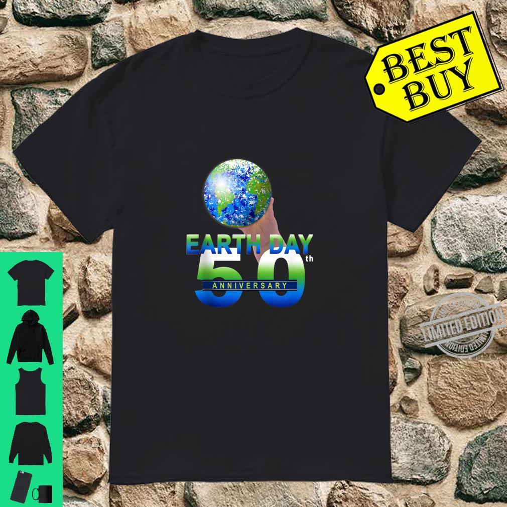 Earth Day 50th Anniversary Planet Earth Shirt