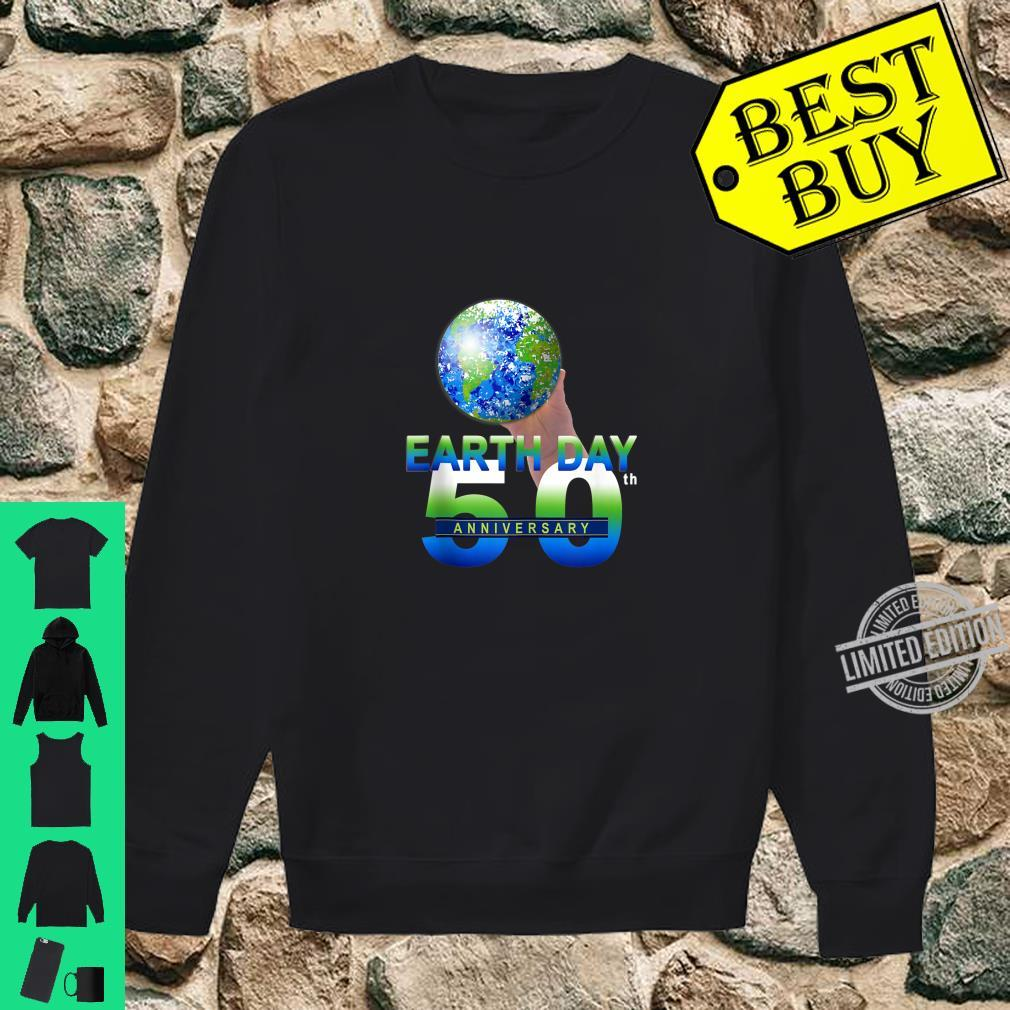 Earth Day 50th Anniversary Planet Earth Shirt sweater