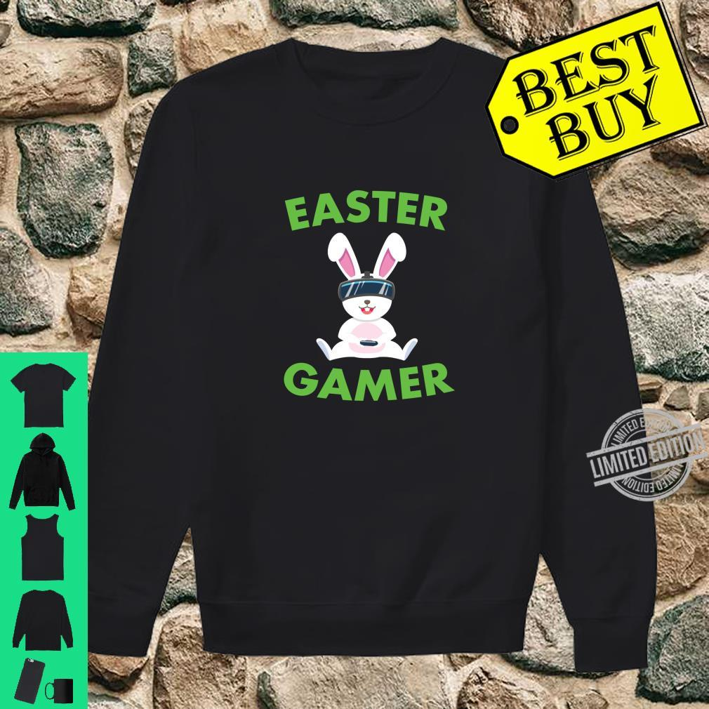 Easter Bunny Gamer VR Video Gaming Shirt sweater