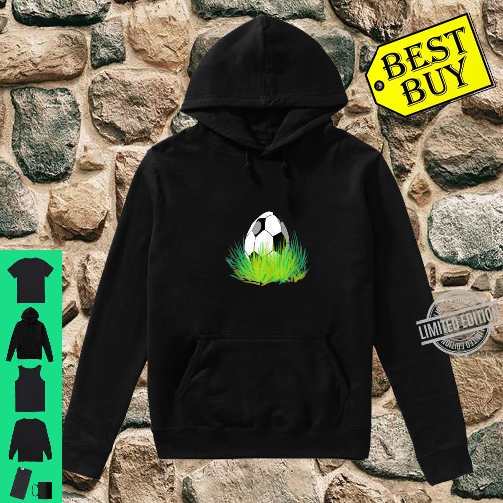 Easter Soccer Bunny Ears Egg Shirt hoodie