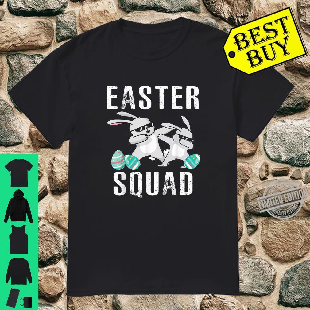 Easter Squad Dabbing Bunny Rabbit Egg Hunting Shirt