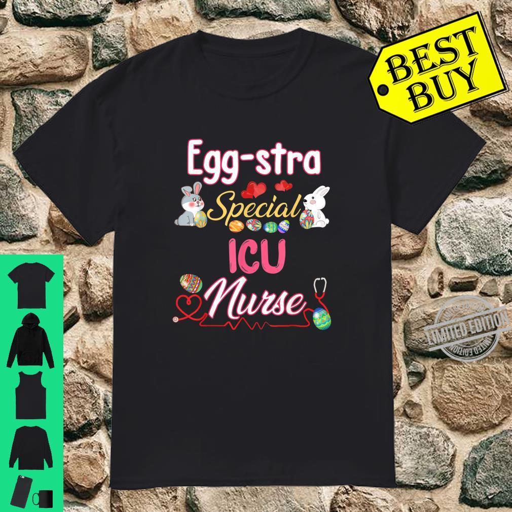 Eggstra Special ICU Easter Bunny Rabbit Eggs Shirt