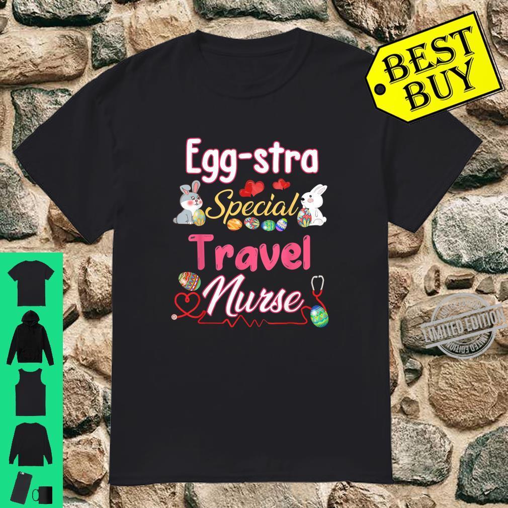 Eggstra Special Travel Easter Bunny Rabbit Eggs Shirt