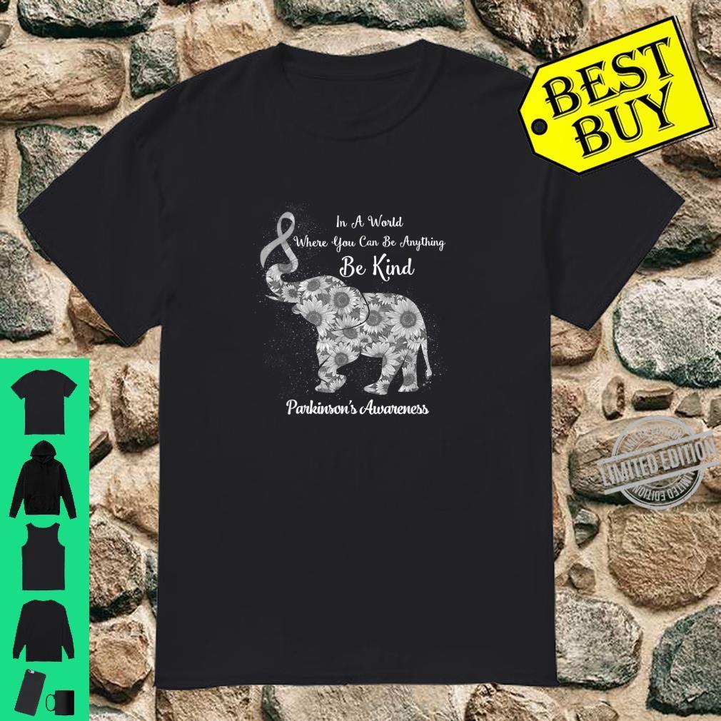 Elephant Be Kind Parkinson's Awareness Shirt