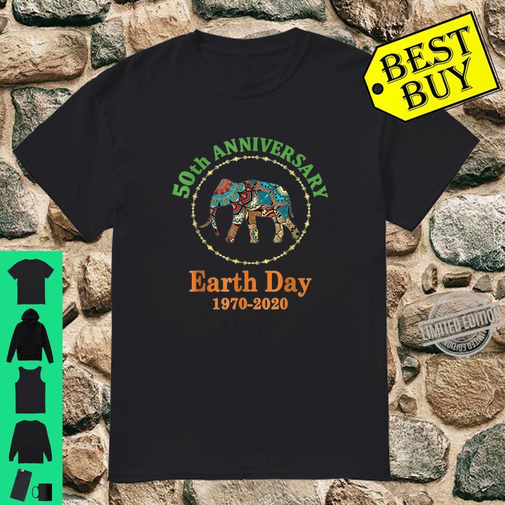 Elephants 50th Anniversary Earth Day 19702020 Shirt