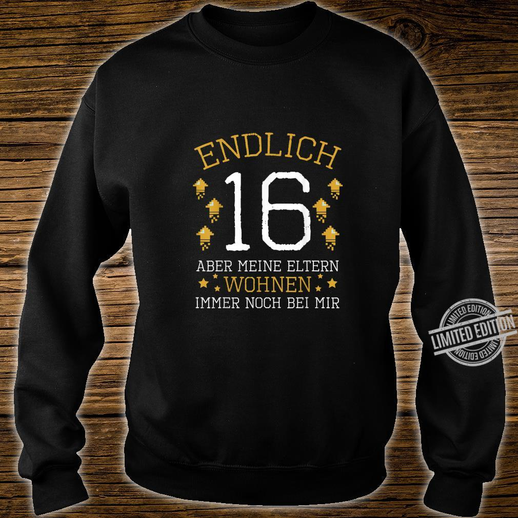Endlich 16 Years Old 2004 Birthday Party Celebration Shirt sweater