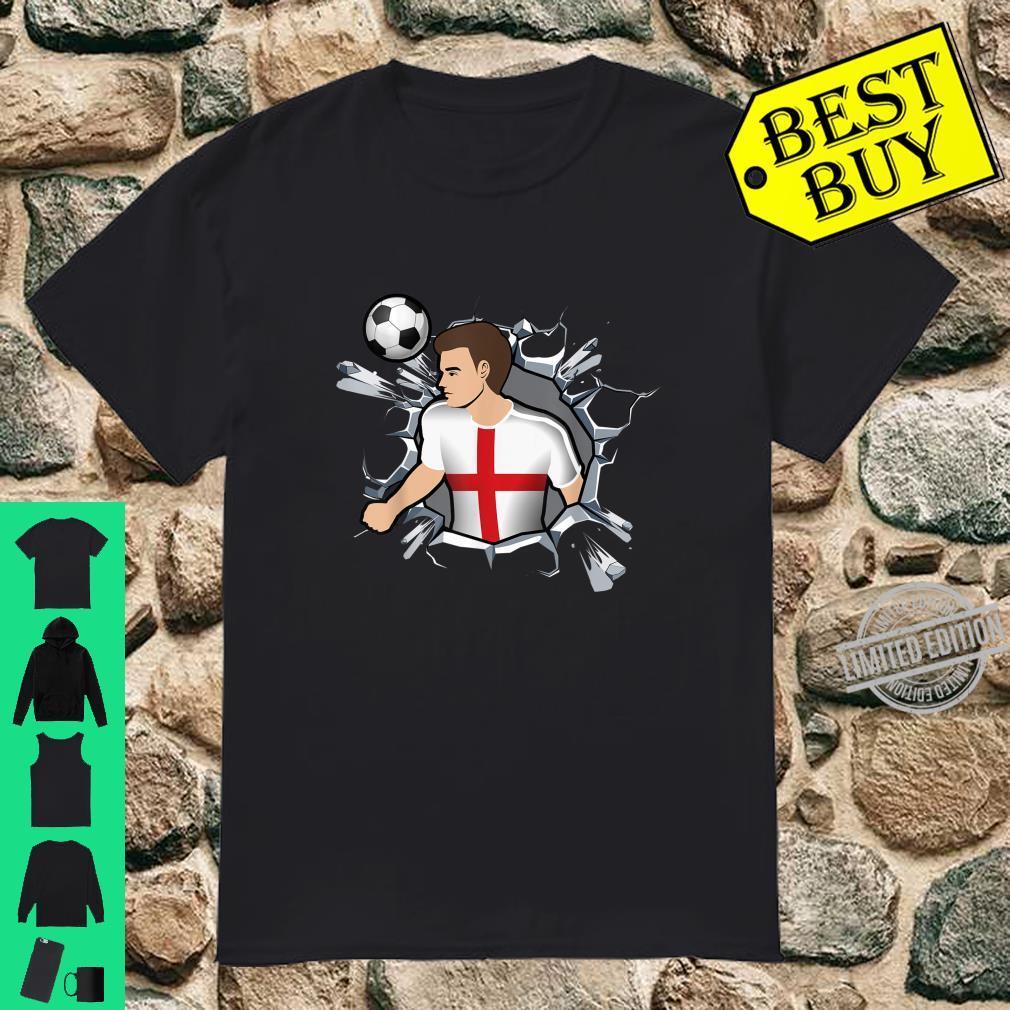 England Fußballfans Trikot Fans Englischer Fußball Shirt
