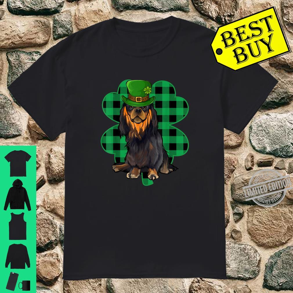 English Toy Spaniel Leprechaun St Patricks Day Lucky Clover Shirt